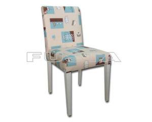 Nergo Ahşap Sandalye Beyaz 373